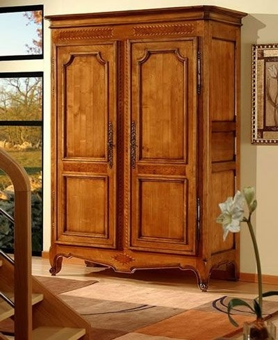 Well Liked Wardrobe Armoire With Hanging Rod – The Wardrobe Armoire – Home Pertaining To Wardrobes And Armoires (View 1 of 15)