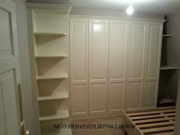 Well Liked White Painted Wardrobes Throughout Capital Polishers Ltd – Furniture Spraying, Kitchen Spraying (View 14 of 15)