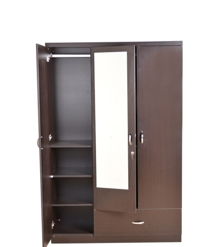Well Liked Wooden Wardrobes With Regard To 3 Door Wooden Wardrobe At Rs 14500 /no (View 10 of 15)