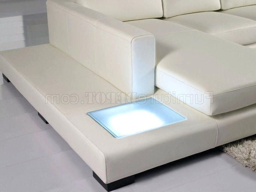 Well Turned Off White Leather Sofa Images – Gradfly (View 10 of 10)