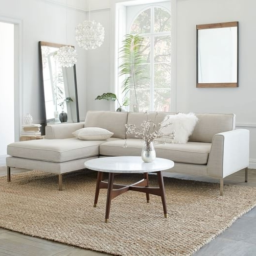West Elm In Most Recent 2 Piece Sectionals With Chaise (View 13 of 15)