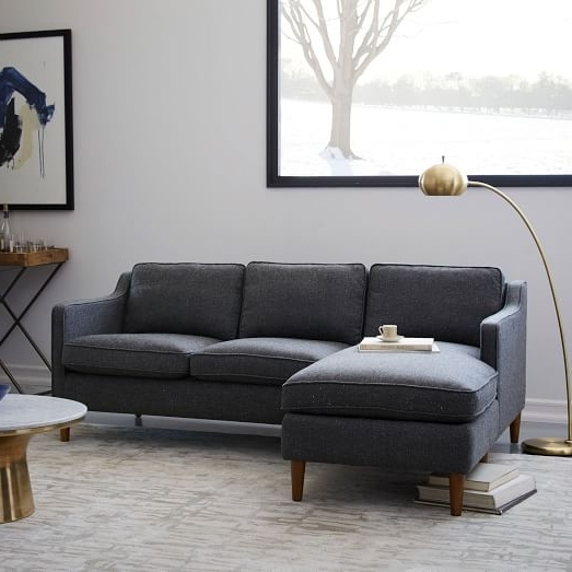 West Elm Inside 2018 West Elm Sectional Sofas (Gallery 3 Of 10)