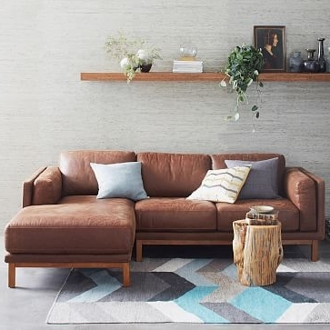 West Elm Pertaining To 2 Piece Sectionals With Chaise (View 14 of 15)
