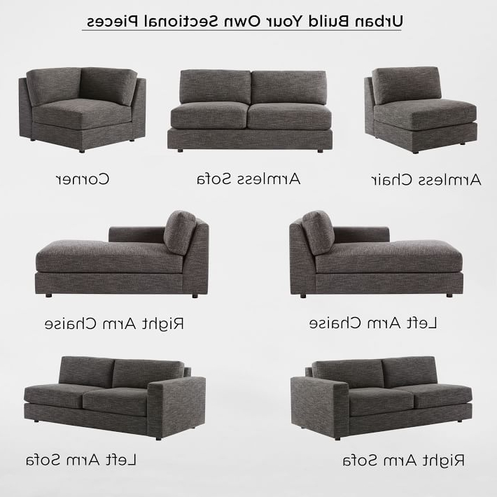 West Elm With Well Known Sectional Sofas That Come In Pieces (View 9 of 10)