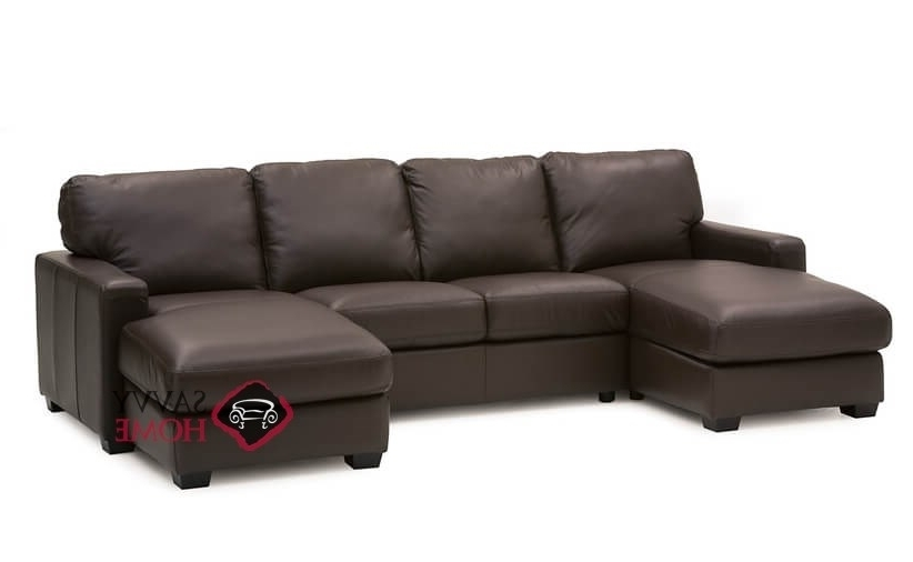 Westend Leather Chaise Sectionalpalliser Is Fully Customizable Inside 2018 Dual Chaise Sectionals (View 14 of 15)