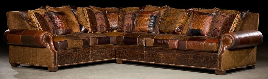 Western Style Sectional Sofas In Well Known Sectional Sofa (View 8 of 10)