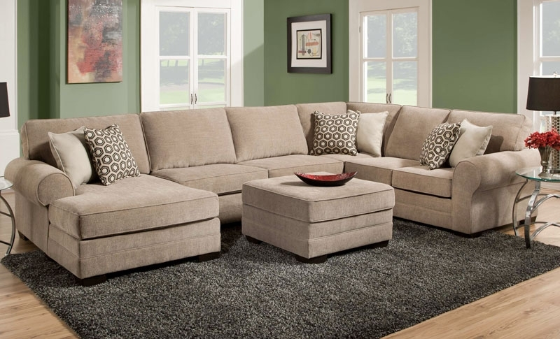 Weston Cobblestone Sectional Sofa – Grand Home Furnishings (View 10 of 10)