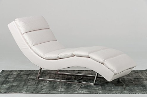 White Chaises For Recent White Chaises – White Chaise Lounge Sofas (View 13 of 15)