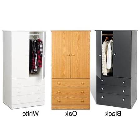 White Cheap Wardrobes In Most Popular Cheap Wire Drawers Wardrobe, Find Wire Drawers Wardrobe Deals On (View 7 of 15)
