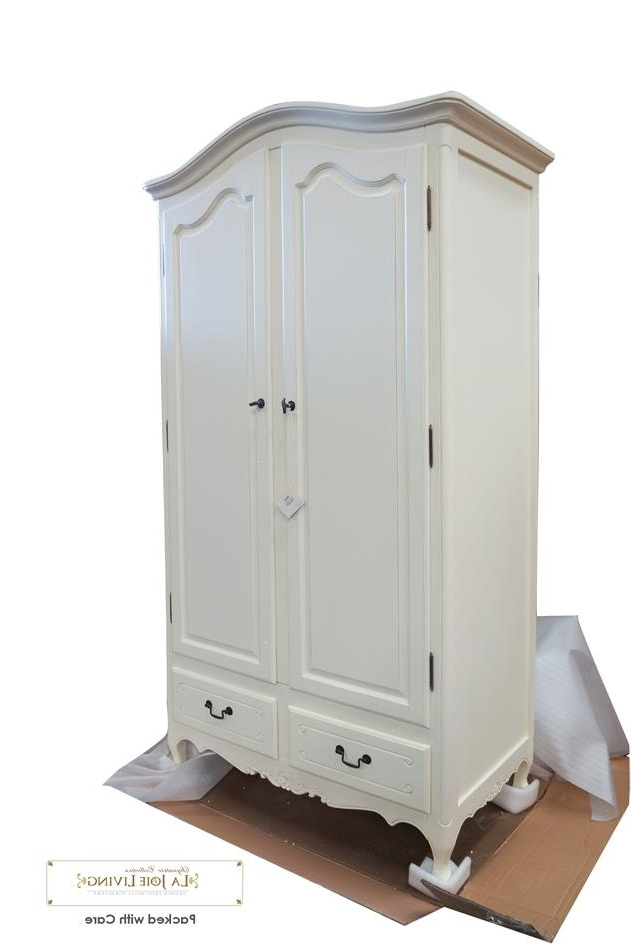 White French Style Wardrobes In Trendy French Provincial Wardrobe French White Provincial Furniture (View 11 of 15)
