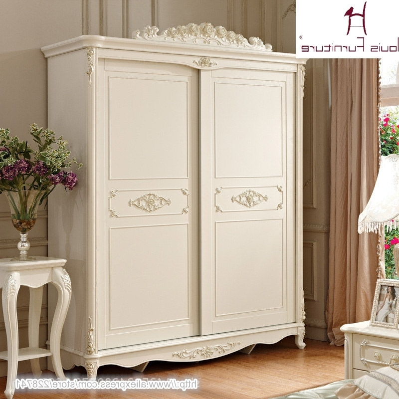 White French Style Wardrobes Within Current Buy French Wardrobe And Get Free Shipping On Aliexpress (View 15 of 15)