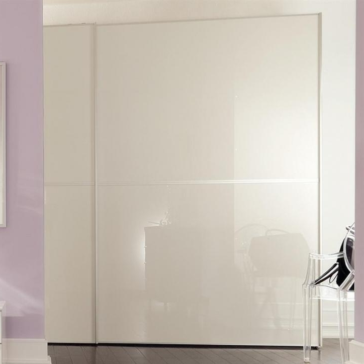 White High Gloss Sliding Wardrobes With Regard To Trendy Plus Sliding Wardrobe – Hulsta (View 14 of 15)