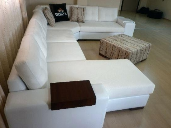 White Leather Corner Sofas Intended For Most Popular Luxury Leather Corner Sofas Black White Leather Sofa Luxury (View 10 of 10)
