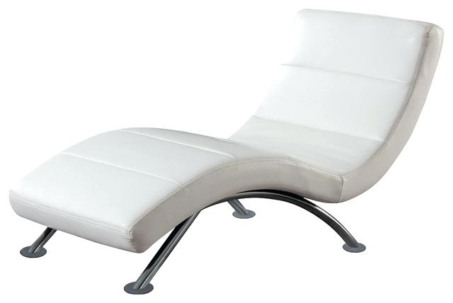 White Outdoor Chaise Lounge Cushions White Wicker Chaise Lounge With Trendy Modern Indoors Chaise Lounge Chairs (View 15 of 15)