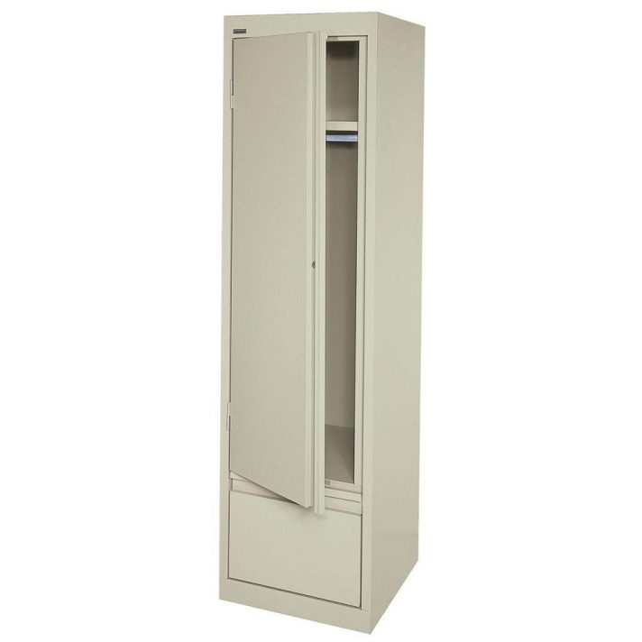 White Single Door Wardrobe Sliding With Drawers Doors Elegant Best In Trendy Single White Wardrobes (View 13 of 15)