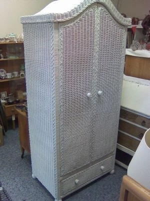 White Wicker Wardrobes Within Popular Sticky Drawers – Furniture Shop In Tarring, Worthing (Uk) (View 14 of 15)
