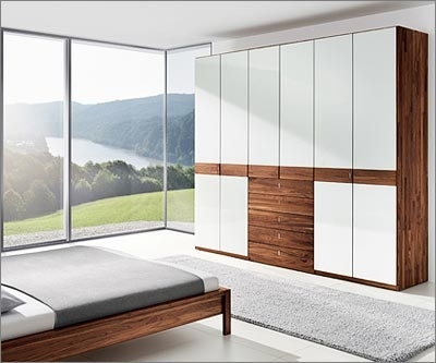 White Wood Wardrobes Pertaining To Latest White Wooden Wardrobe Designs: A Striking Addition To Any Home (View 14 of 15)