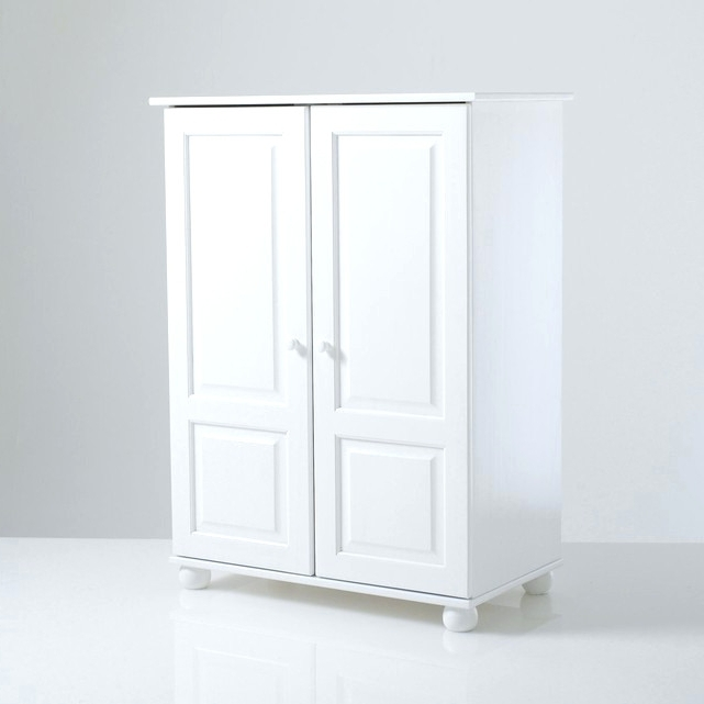 Whitewash Wardrobes Intended For Most Popular Wardrobes ~ White Washed Pine Wardrobe Large White Painted (View 11 of 15)