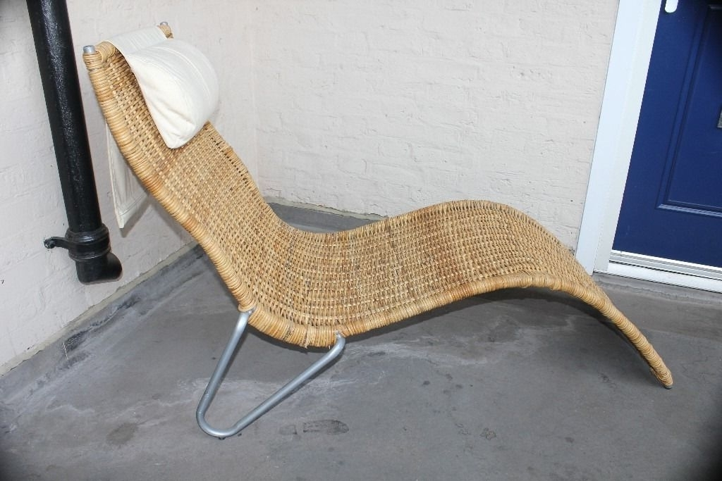 Wicker Chaise Lounge Ikea : Relaxing Chaise Lounge Ikea – Rockcut Pertaining To Fashionable Wicker Chaises (View 9 of 15)