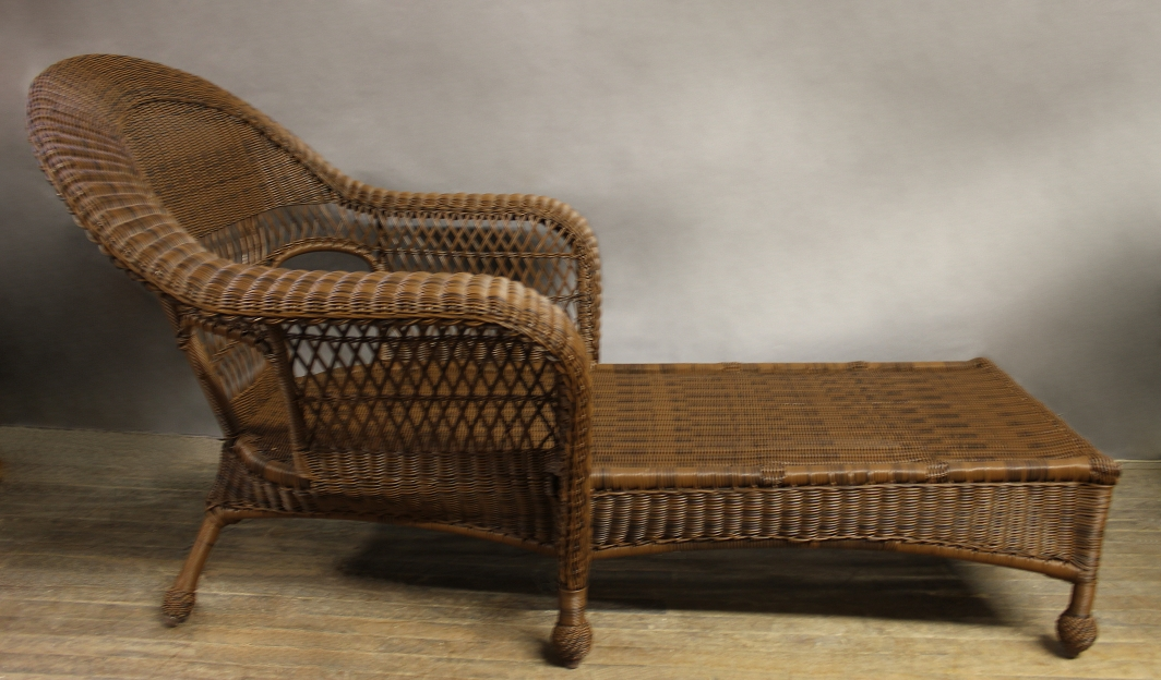 Wicker Chaise Lounges For Most Current Resin Wicker Chaise Lounge Attractive Wonderful Charleston Outdoor (View 12 of 15)