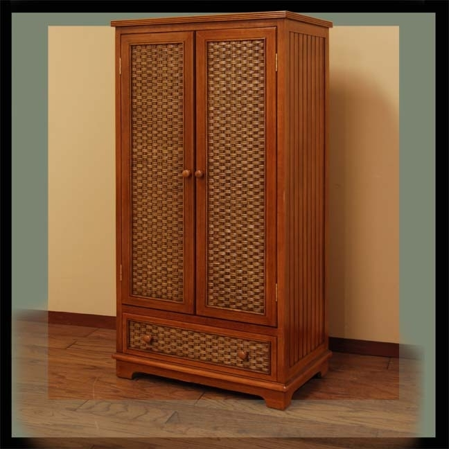 Wicker Wardrobe (View 15 of 15)