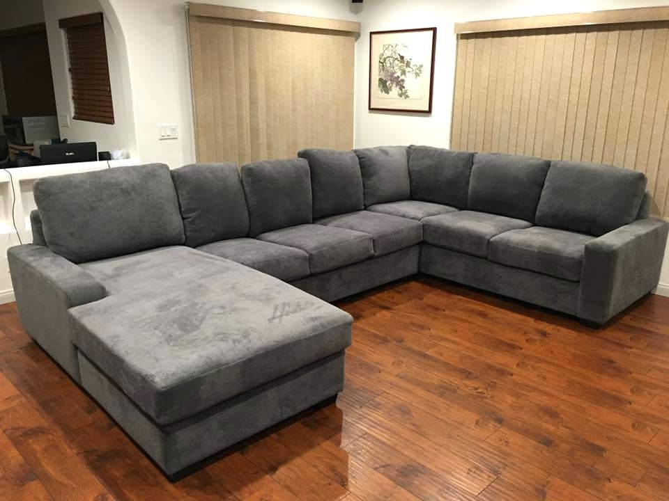 Wide Seat Sectional Sofas Inside Widely Used Wide Seat Sofa Wide Seat Sectional Sofas New Sectional Couch With (View 10 of 10)