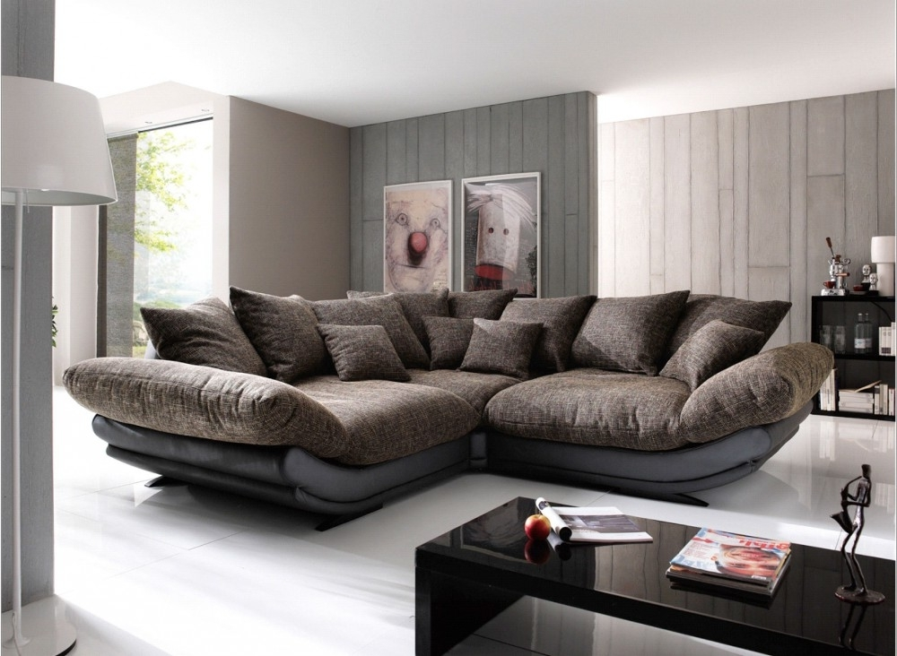 Wide Sectional Sofas Regarding Most Up To Date Best Choice Of Wonderful Large  Sectional Sofa Capricornradio