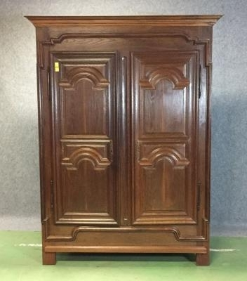 Widely Used 18Th Century Oak Wardrobe For Sale At Pamono In Oak Wardrobes For Sale (View 15 of 15)