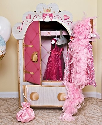 Widely Used Amazon: Advanced Graphics – Princess Wardrobe – Pink: Clothing With Regard To The Princess Wardrobes (View 15 of 15)