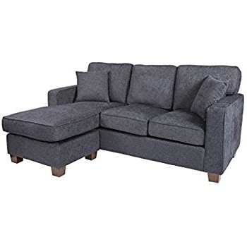 Widely Used Amazon: Ashley Hodan 7970018 93 Inch Sofa Chaise With Pillows Intended For Hodan Sofas With Chaise (View 15 of 15)