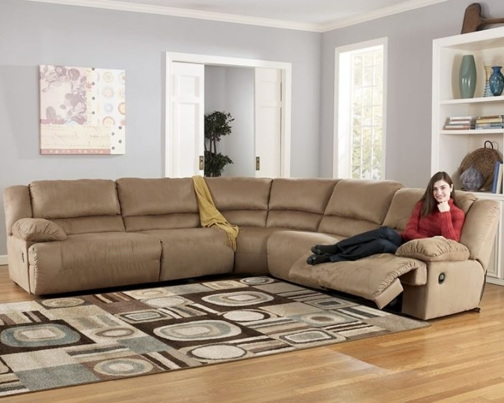 Widely Used Awesome Brown Bobopedic Sectional Sofa Ashley Furniture Intended For Sectional Sofas At Ashley Furniture (View 10 of 10)