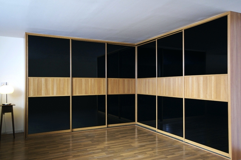 Widely Used Black Sliding Wardrobes Throughout Wardrobes ~ Black Wardrobes Sliding Doors Black Gloss Wardrobes (View 14 of 15)