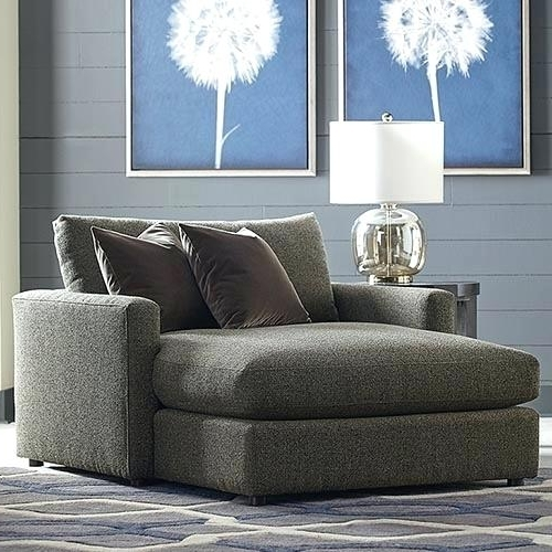 Widely Used Chaise Lounge Chairs For Two With Oversized Chaise Lounge Sofa Allure Two Arm Chaise Chaise Lounge (View 5 of 15)