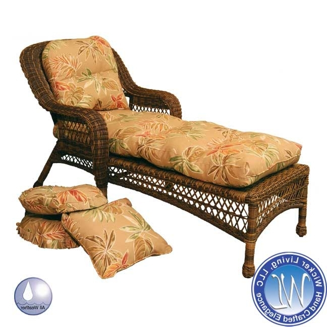 Widely Used Chaise Lounge Cushions (View 15 of 15)