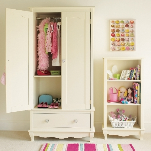 Widely Used Children's Wardrobes – Junior Rooms Pertaining To White Wood Wardrobes With Drawers (View 15 of 15)