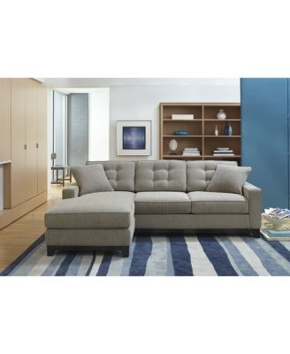 Widely Used Clarke Fabric 2 Piece Sectional Sofa, Only At Macy's $ (View 10 of 10)