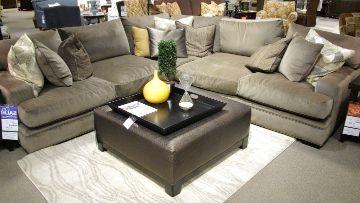 Widely Used Comfy Sectional Sofas Within Fontaine Sectional Sofa So Comfy  With 27Quot Deep Oversized (