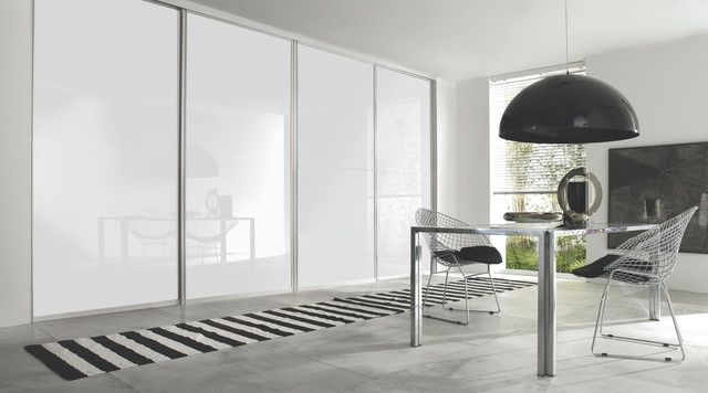 Featured Photo of White Gloss Sliding Wardrobes