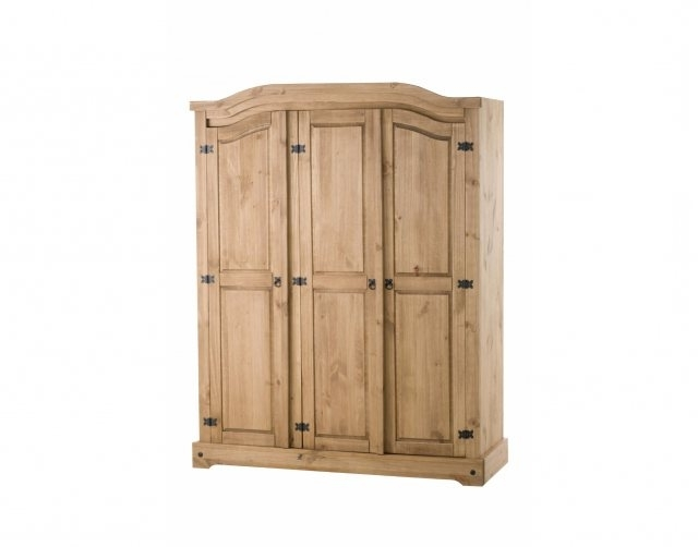 Widely Used Corona 3 Door Wardrobes Throughout Corona 3 Door Wardrobe – Wardrobes – Furniture World (View 15 of 15)