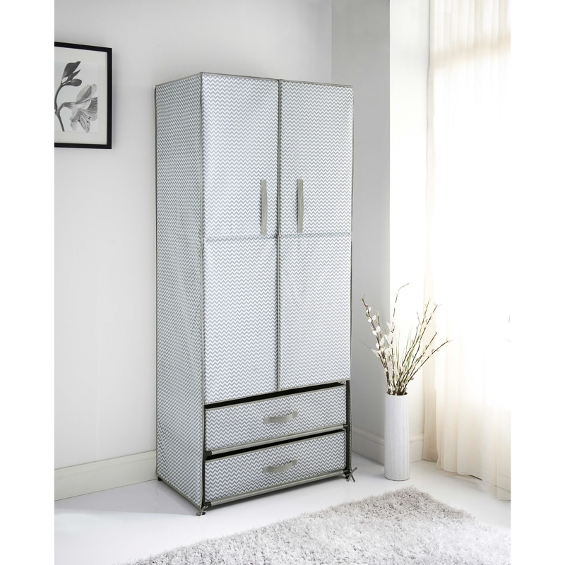 Widely Used Double Up Wardrobes Rails Regarding Cheap Wardrobes, Bedside Tables & Drawers – Bedroom Furniture (View 11 of 15)