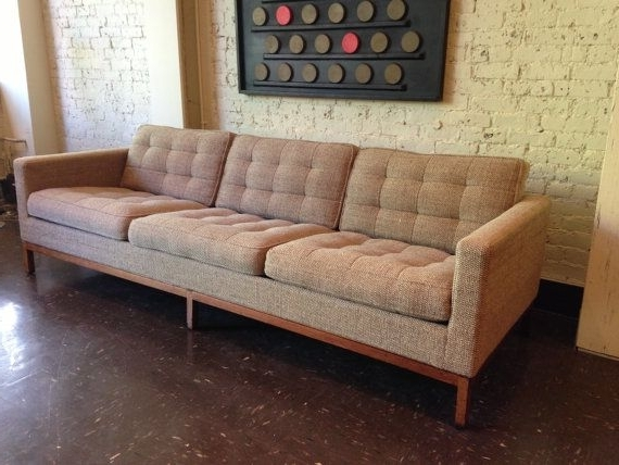 Widely Used Florence Sofas And Loveseats With Regard To Authentic Mid Century Florence Knoll Sofamidcenturyville (View 5 of 10)