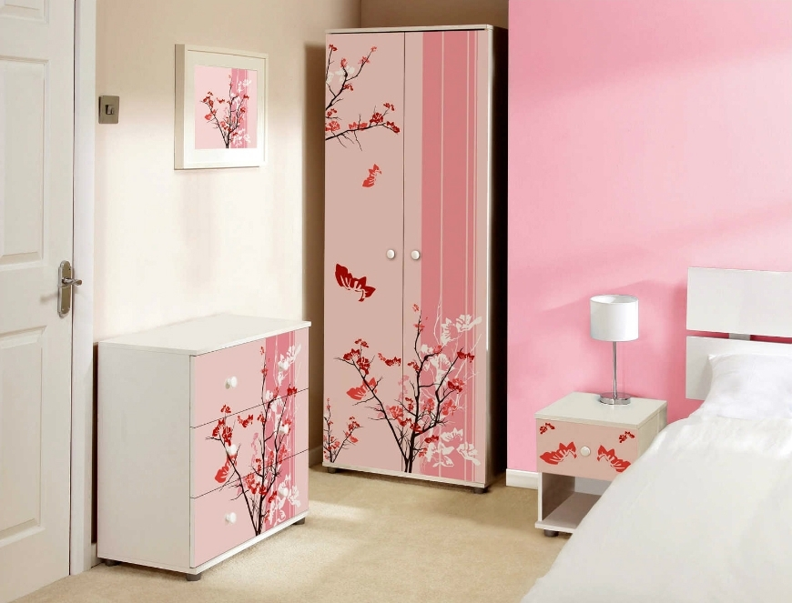 Widely Used Girls Wardrobes Within Kids Furniture Ideas: Chic Wardrobes For Girls Room – Kids Bedroom (View 2 of 15)