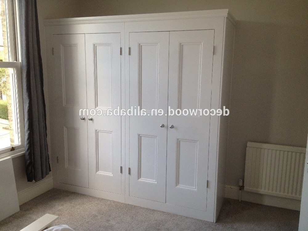 Widely Used High Quality Solid Wood White Wardrobe , Find Complete Details Pertaining To White Wood Wardrobes (View 15 of 15)