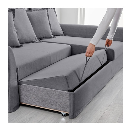 Widely Used Holmsund Sleeper Sectional, 3 Seat – Nordvalla Medium Gray – Ikea Intended For Ikea Sectional Sleeper Sofas (View 10 of 10)