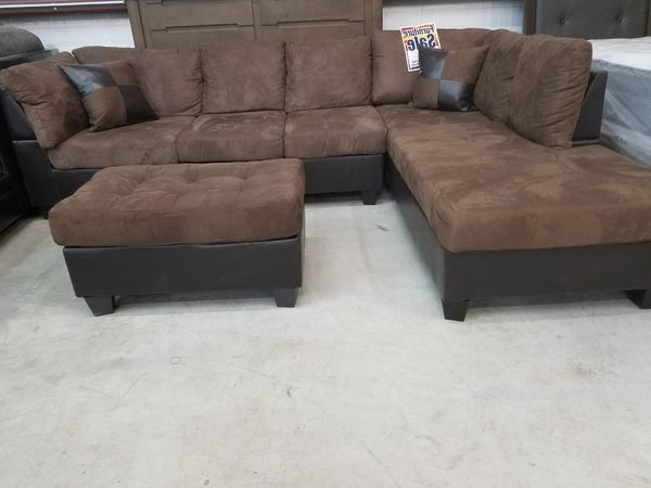 Widely Used Killeen Tx Sectional Sofas Within Abby Sectional And Ottoman (Furniture) In Killeen, Tx – Offerup (View 10 of 10)