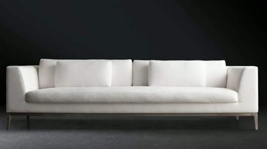 Widely Used Long Modern Sofa Awesome Long White Sofa 99 About Remodel Sofas For Long Modern Sofas (View 3 of 10)