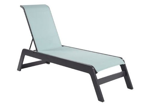 Widely Used Malibu Sling Chaise Lounge (View 15 of 15)
