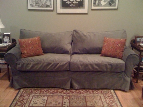 "Widely Used Mitchell Gold Sofas Pertaining To Alexa 83"" Sofa (View 10 of 10)"
