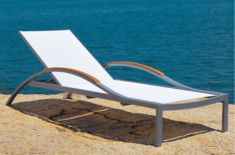 Widely Used Newport Chaise Lounge Chairs With Teak Chaises & Teak Loungers : Teak Outdoor Furniture From Benchsmith (View 15 of 15)