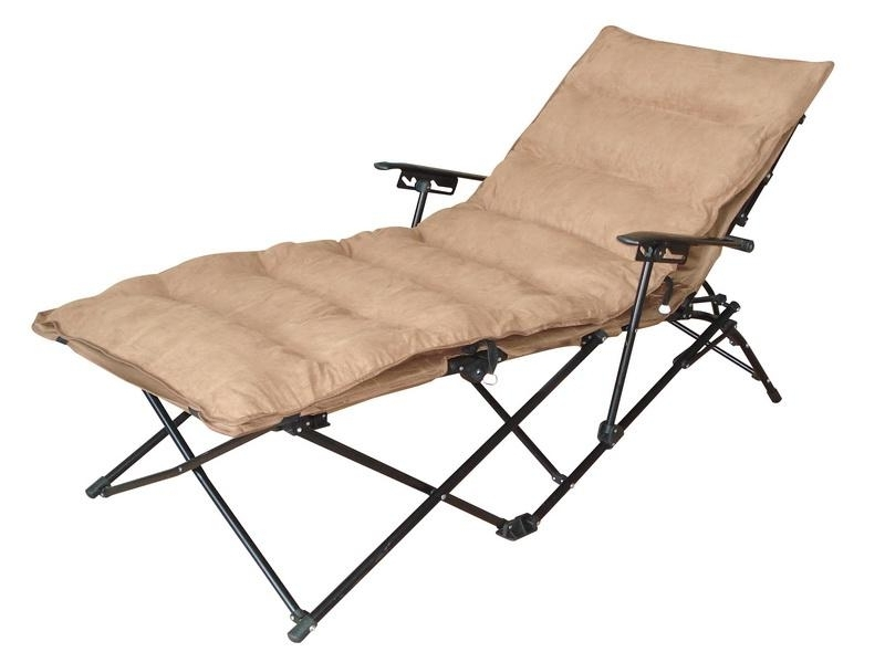 Widely Used Outdoor Folding Chaise Lounge Chairs Folding Outdoor Lounge Chair In Folding Chaise Lounge Outdoor Chairs (View 15 of 15)